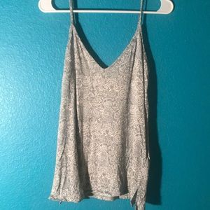 Blue and White Tank Top from Old Navy